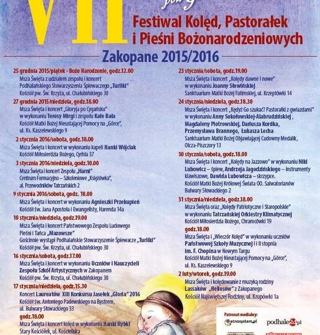 Koncert kolęd w Zakopanem